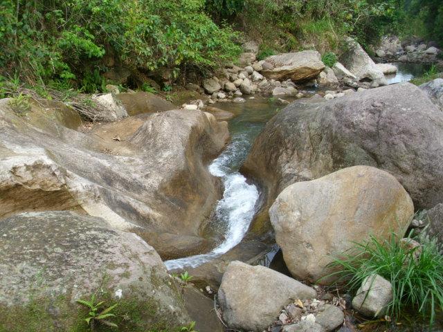 río de cañas, Santa María, La Paz
