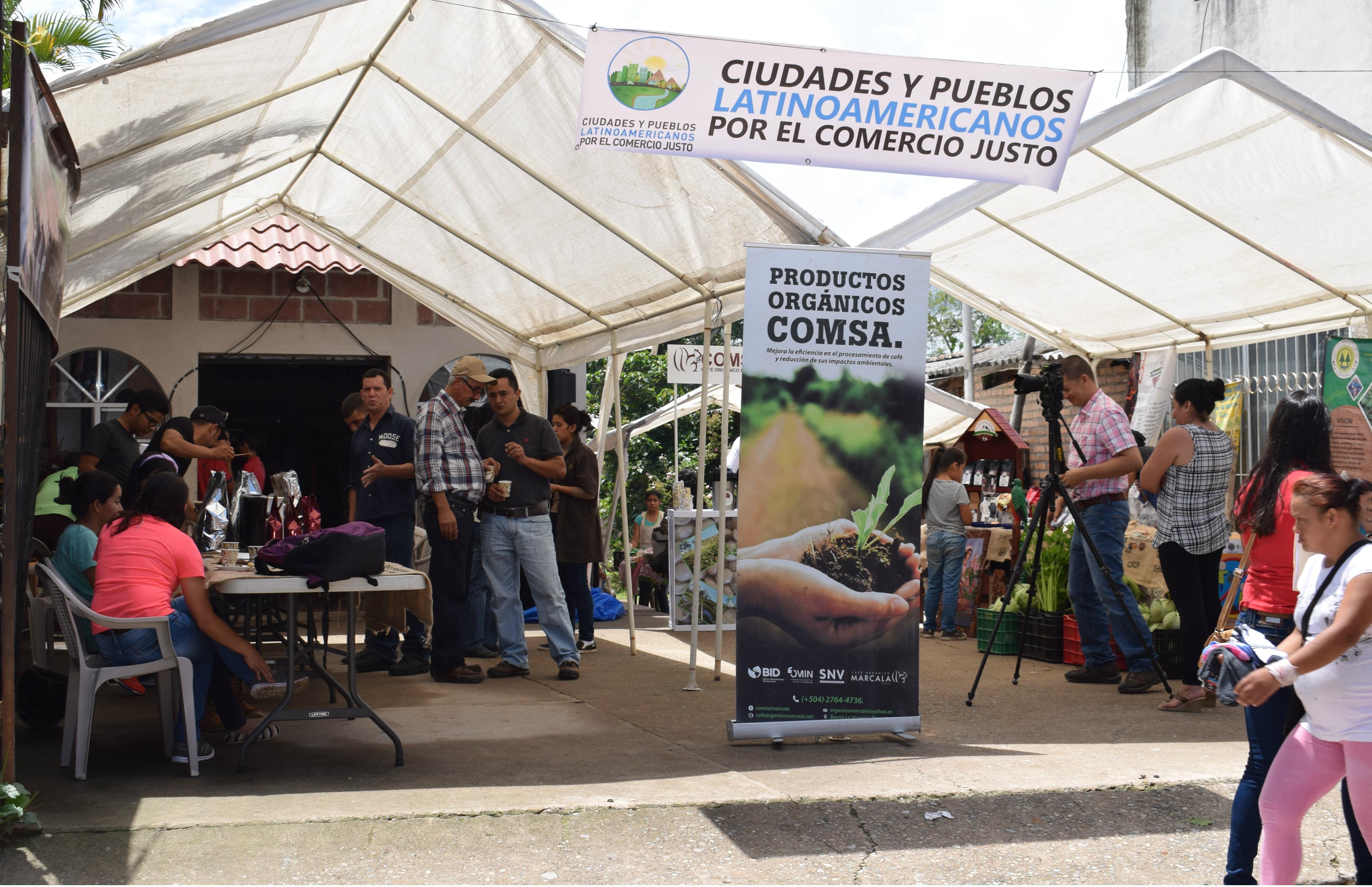 Marcala celebró el Día del Comercio Justo
