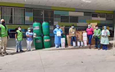 JLM entrega equipo para el manejo de los residuos