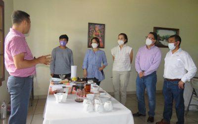 La Rectora de El Zamorano y UNITEC, visitan COMSA